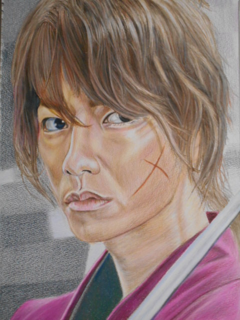 Takeru Satoh illustration